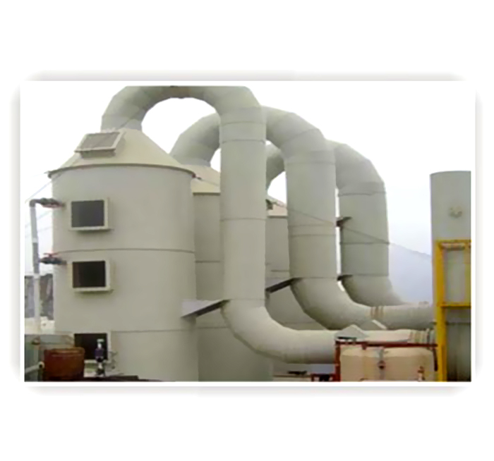 噴淋塔凈化廢氣處理設備