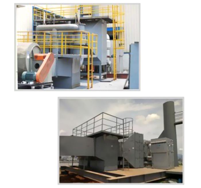 吸附催化燃燒廢氣處理設備
