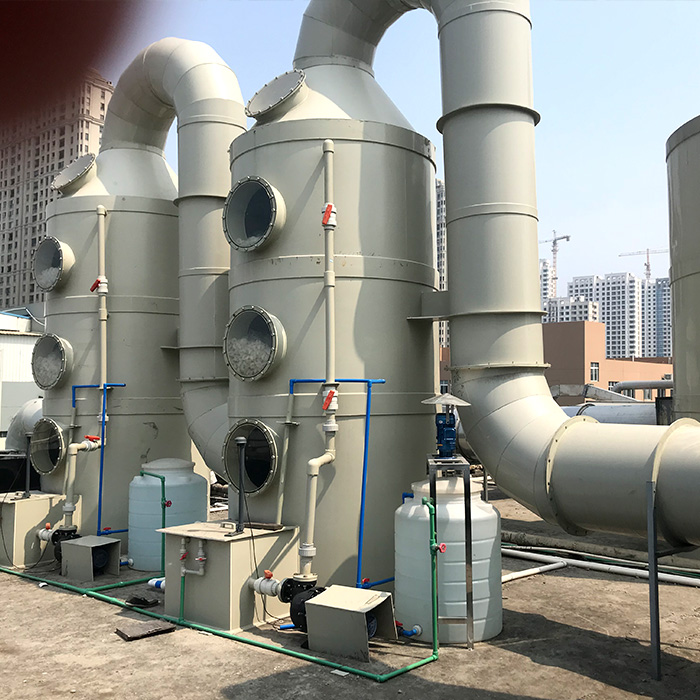 水產有限公司蒸魚廢氣處理設備