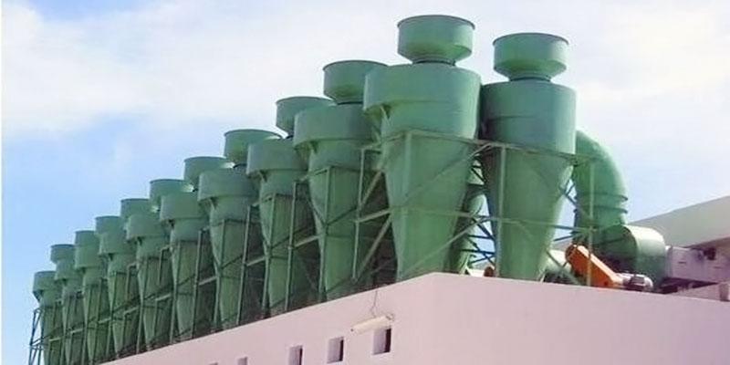工業粉塵旋風除塵器