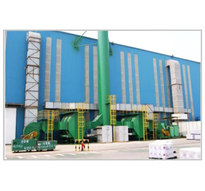 廢氣吸附催化燃燒處理設備