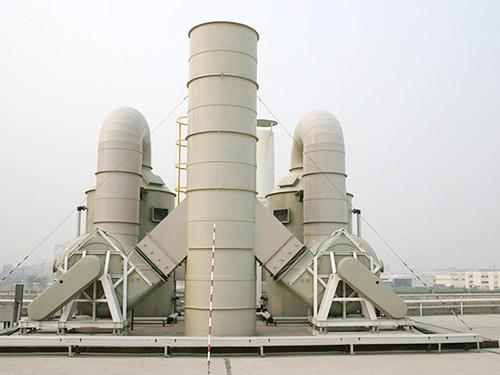 酸性廢氣噴淋塔處理設備